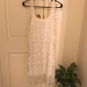 Beautiful Lace White Dress